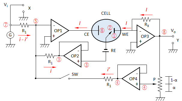 3-electrodes-cell-circuit