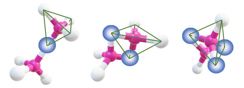 tetrahedrons-sharing-corners